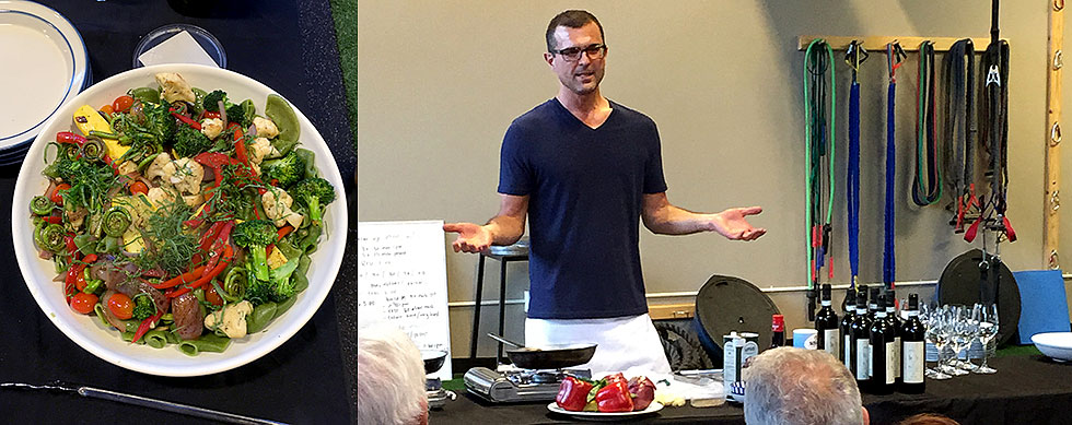 Hyatt Training lecture: Seasonal cooking with Roland Carfagno