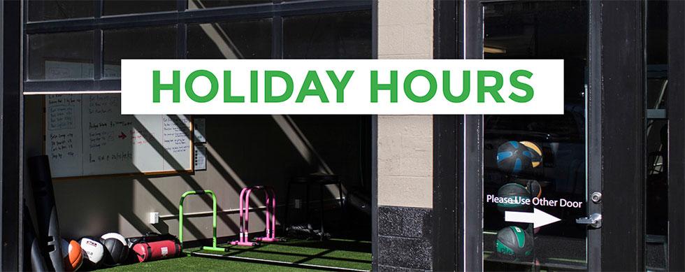 hyatt training holiday hours