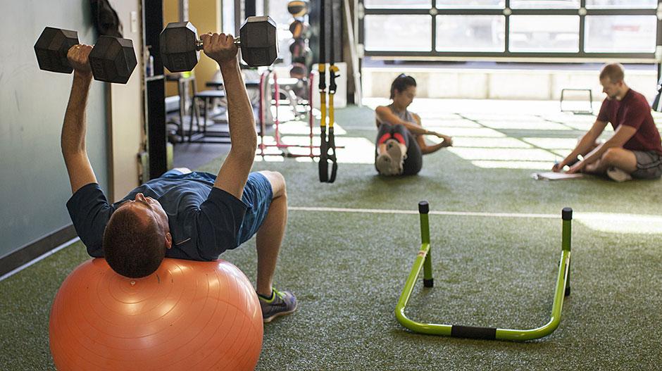 Hyatt Training Portland personal training gym