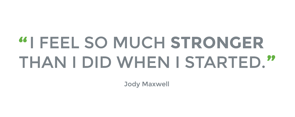 success story jody maxwell