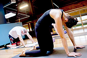 Portland personal training yoga services at Hyatt Training
