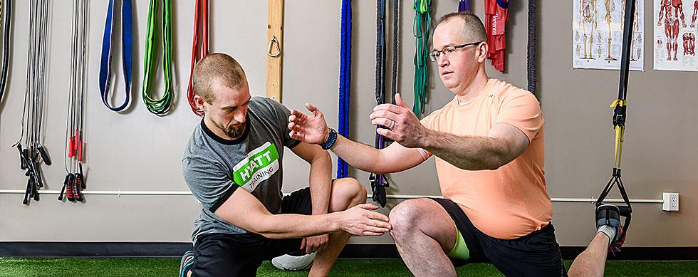 Portland personal training at Hyatt Training