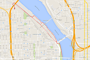 Portland workouts: Hyatt Training 5K run