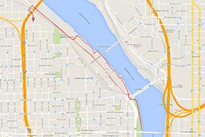 Portland workouts: Hyatt Training 5K run