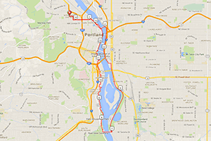 Hyatt Training Sellwood Loop run