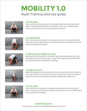 Hyatt Training exercise guide mobility 1.0
