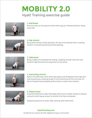 Hyatt Training exercise guide mobility 2.0