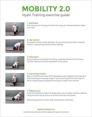 Hyatt Training exercise guide mobility 2.0