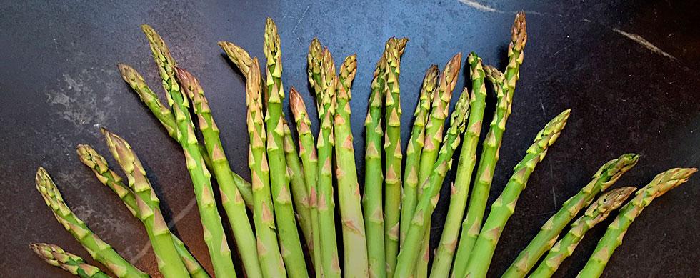 hyatt family eats asparagus pasta recipe