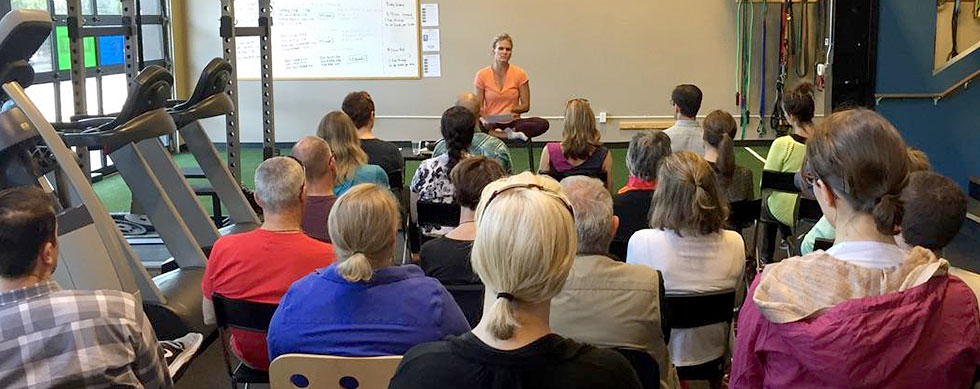 Hyatt Training meditation basics lecture with Dina Lang