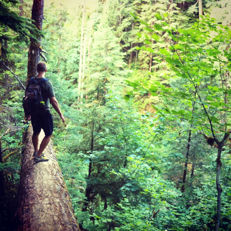 Day hikes at Mount Hood Eagle Creek Trail