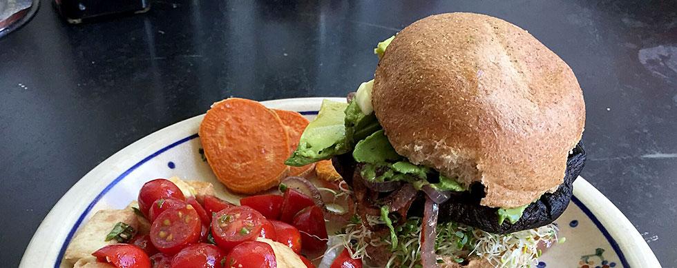 Hyatt Training Eats: Burger night