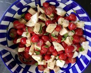 Hyatt Training Eats: Caprese salad