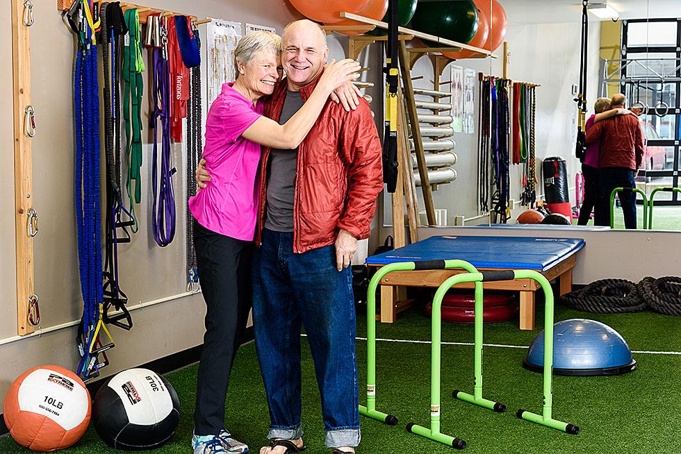 Hyatt Training success story Eileen Trudeau and Nels Gabbert