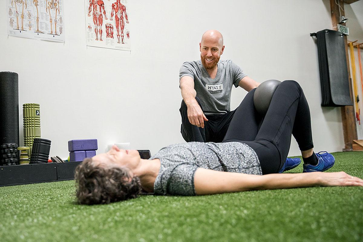 Hyatt Training Portland personal trainer Jeremy Hyatt