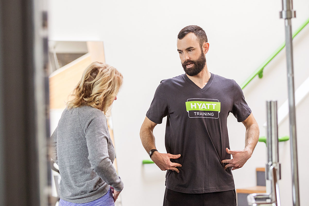 Personal Training In Portland Oregon Hyatt Training