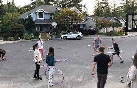 Hyatt Training dream team 2018 trainer party