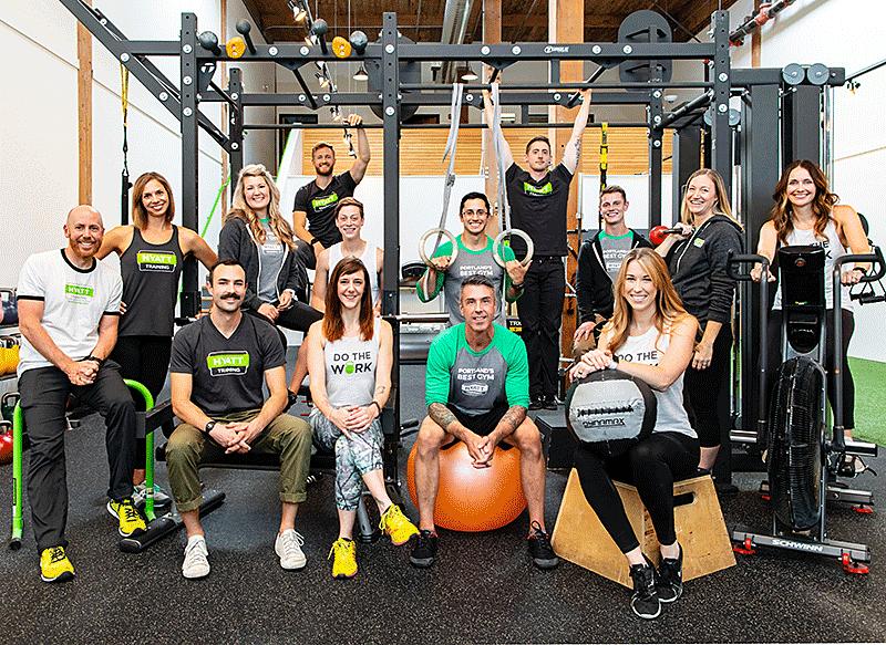 Hyatt Training best Portland personal training gym