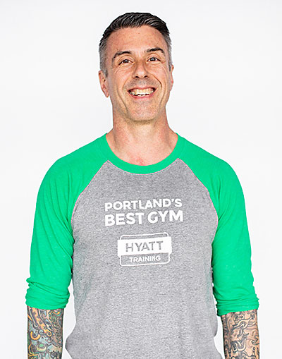 Hyatt Training Portland personal trainer Sean Rieth