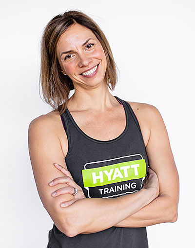 Hyatt Training Portland yoga instructor Lee Carson