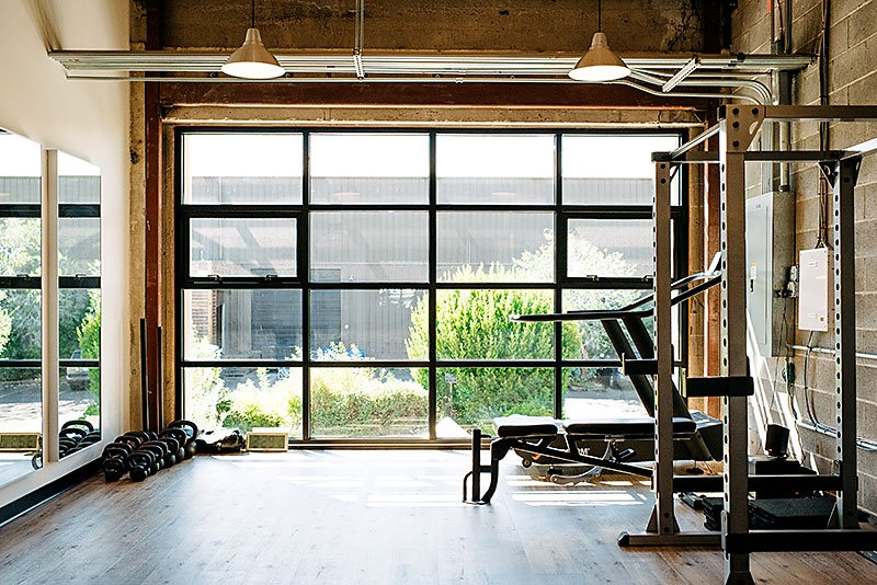 Hyatt Training Portland personal training gym in Portland, private workout areas for COVID-19