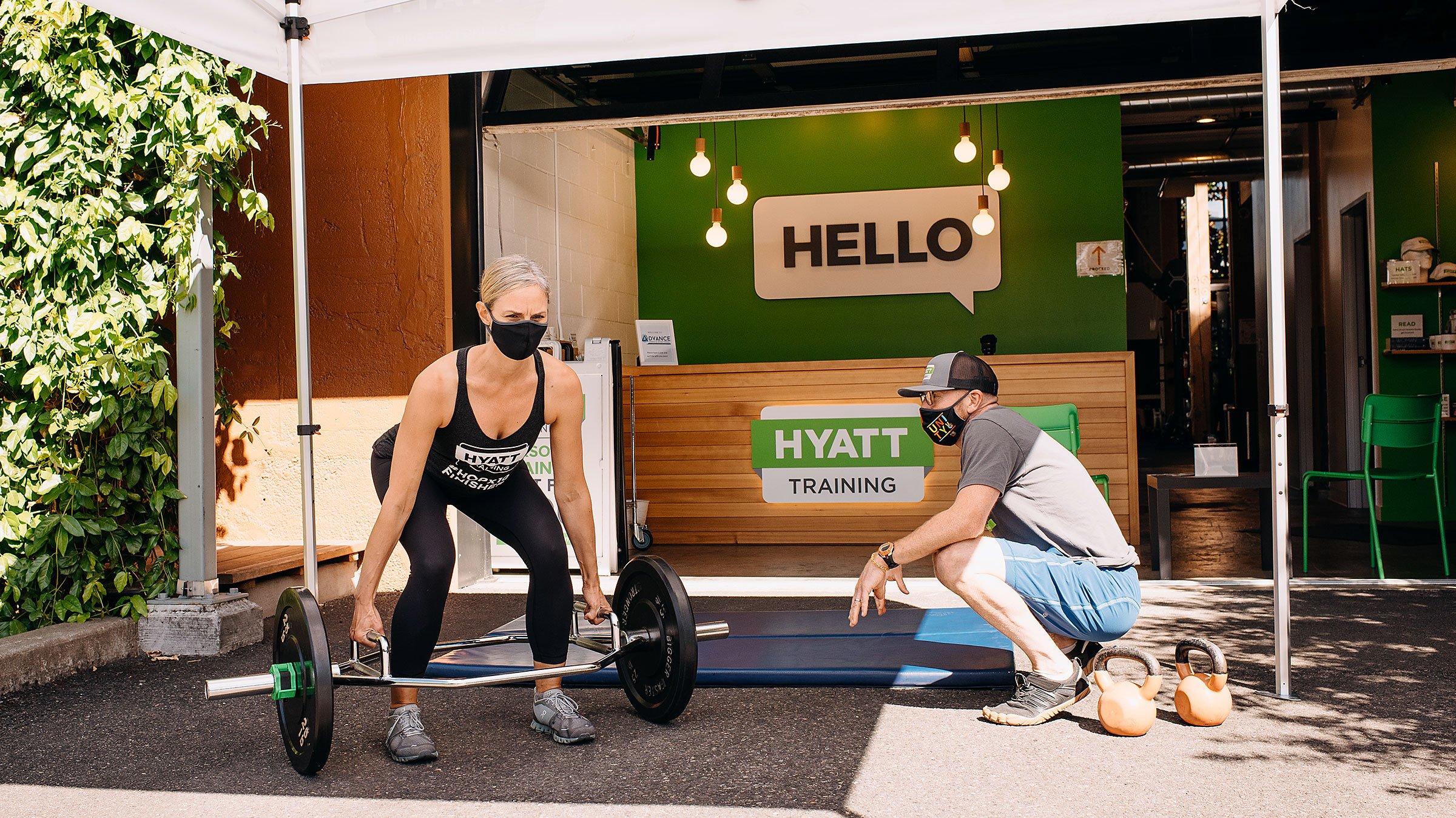 Hyatt Training Portland personal training gym in Portland, open during COVID-19