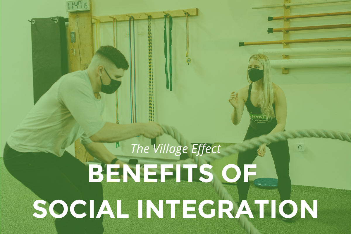 how does social integration support health