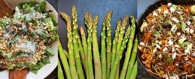 Hyatt Training healthy recipes for spring