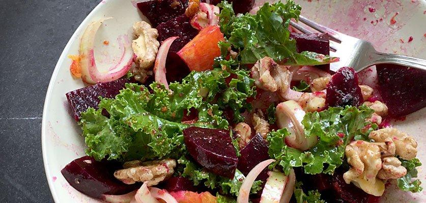 Hyatt Training healthy recipes for spring: lunch salads