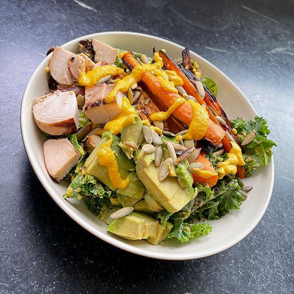 Hyatt Training summer recipes carrot ginger grain bowls